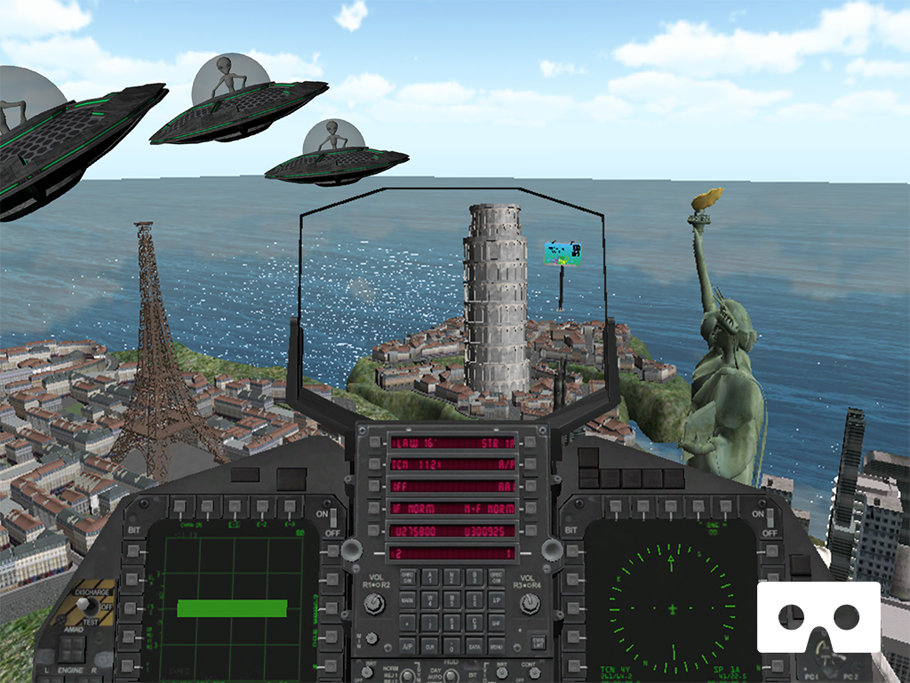screenshot 3  Aliens Invasion VR content image